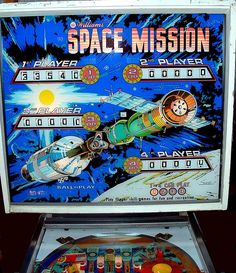 Space Mission Backglass