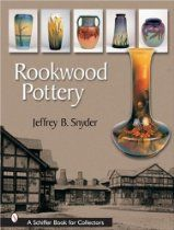 Established in 1880 in Cincinnati, Ohio, Rookwood Pottery remained a leader in the ceramic art pottery movement through 1967. Illustrated with over 800 beautiful color photographs of vases, urns, candlesticks, and plates, the book includes stunning examples of hand-painted decoration (many depicting the natural world) by well-known masters. click image for more info...