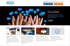 So.cl: A social networking site with an edge