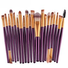 Professionnel 20 pcs Pinceau de Maquillage Make-up Trousse de toilette de Marque Make Up Brush Set Cosmétiques outils Pour Les Femmes Freeshipping 2016(China (Mainland))