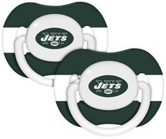 NY Jets Pacifiers....LUV IT <3
