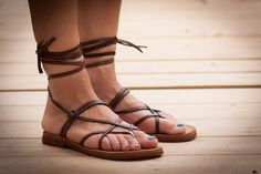 Hey, I found this really awesome Etsy listing at https://www.etsy.com/listing/193451806/brown-leather-women-sandals-gladiator