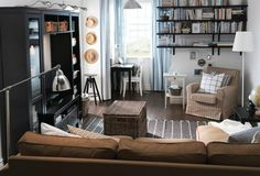 The living room or family room in most of the new homes is small. There are several things one can do to visually enlarge the small living room. The following...