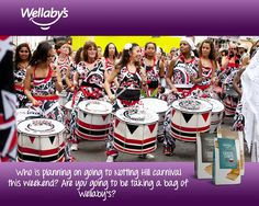 Who is planning on going to Notting Hill carnival this weekend? Are you going to be taking a bag of Wellaby's?