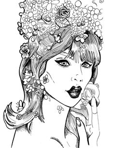 "Buy ""FASHION TRENDS: LONDON LOOK OF THE 60'S"" by Leigh Rudd and Brittany Morganti to color in #jeanshrimpton !!! :D Click on the picture to buy it today!!!"