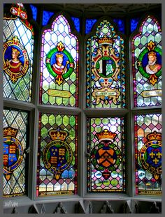 For over 30 years Horace Walpole assembled what was the first collection of stained glass in Britain – English medieval and Tudor pieces, 16th and 17th century roundels from the Low Countries...