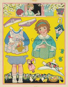 Hader paper doll_Good Housekeeping magazine, April 1924