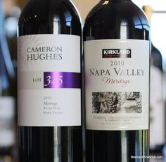 BULK BUY! The 2010 Cameron Hughes Lot 325 Atlas Peak Napa Valley Meritage and the 2010 Kirkland Signature Napa Valley Meritage face off! We're huge fans of Meritage blends here at The Reverse Wine Snob. As you may remember from our recent Make Mine a Meritage series, a Meritage blend is basically a Bordeaux style …