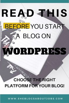 Wordpress Blog| This is a great post that teaches you the pros or cons of both wordpress. com and wordpress. org. Many new bloggers who want  to start a wordpress blog make a mistake of using wordpress. com which is very limited for running a profitable blog. Read on to see which wordpress blog is best for your blogging journey!