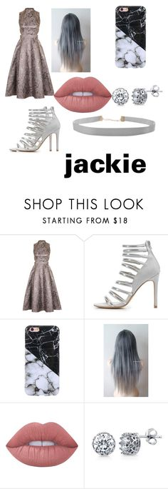"""Jackie formal outfit"" by pokemon-master-11 ❤ liked on Polyvore featuring Topshop, Charlotte Russe, Lime Crime, BERRICLE and Humble Chic"