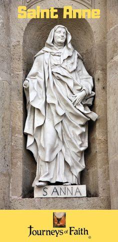 Saints Anne and Joaquim Catholic Saints, Patron Saints, Roman Catholic, Mother Cabrini, Lives Of The Saints, St Anne, Love Never Dies, John The Baptist, Before Us