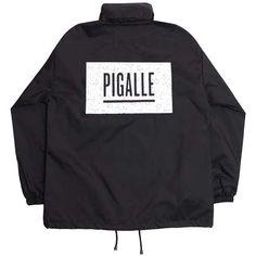 PIGALLE【ピガール】BOX LOGO WINDBREAKER JACKET【ボックス・ロゴ・ウィンドブレーカー・ジャケット】BLACK【ブラック】【楽天市場】