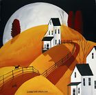 ORIGINAL painting by Debbie Criswell folk art black cat moon coming home lost - http://art.goshoppins.com/folk-art/original-painting-by-debbie-criswell-folk-art-black-cat-moon-coming-home-lost/