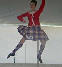 Kilt with red jacket #Bruce #Other #Tartan