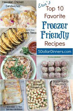 Freezer Friendly Meals, Budget Freezer Meals, Cooking On A Budget, Frugal Meals, Easy Meals, Freezer Cooking, Freezer Recipes, Bean Recipes, Healthy Dinner Recipes