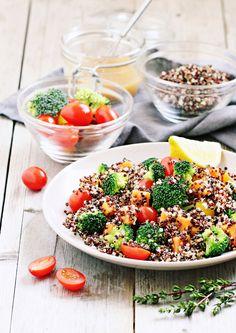 Μια πλούσια, γευστική και πολύ χορταστική σαλάτα που μπορεί να φαγωθεί και ως κυρίως πιάτο. Ιδανική επιλογή και για όσους κάνουν δίαιτα.