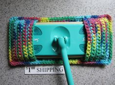 Crocheted Dusters And Mop Covers On Pinterest Crochet