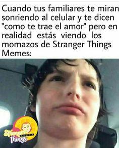 Stranger Things Funny, Stranger Things Netflix, Saints Memes, Spanish Memes, Best Memes, Funny Images, Jokes, Free Recipes, Wings