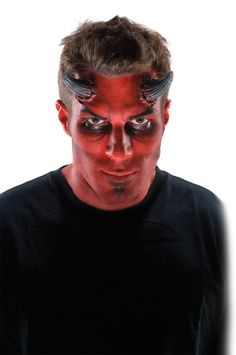 Devil Theatrical Makeup Stack - This makeup stack has four pots of devil colours to make contouring and shading a breeze this Halloween. This make up stack is theatrical quality grease makeup. It comes with a bright red, maroon red, plum purple and black. This easy makeup colour kit will let you create a devil face in no time. Pick one up for your devil Halloween costume and complete the evil underworld look.