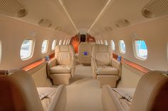 travel by private jet...so extravagant but so cool :)