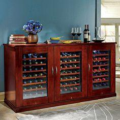 Trilogy Wine Cellar Credenza - Wine Enthusiast