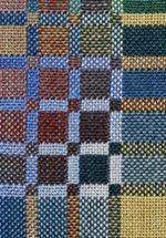 Nancy Middlebrook's double weave detail.