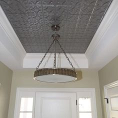 Cool Kitchen ceiling idea?