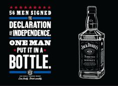 So declare your independence.