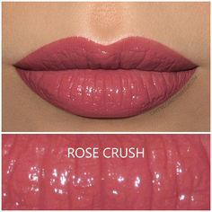 Shiseido Rouge Rouge lipstick in Rose Crush, review and swatch | Buy it here : http://rstyle.me/~9xCeT