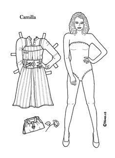 Karen`s Paper Dolls: Camilla                                                                                                                                                                                 More