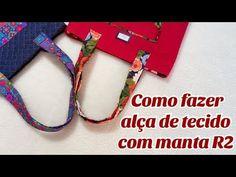 Como fazer alça de tecido com manta R2- por Tuca Ensina - YouTube Personalized Items, Youtube, Wings, Purse Holder, Sew, Fabric Purses, Tote Bags, Tejidos, Backpacks