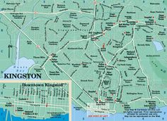 Having a map of Kingston Jamaica is essential in learning about the places you want to visit and how to get there if you intend on visiting the Capital. Cancun Hotels, Beach Hotels, Beach Resorts, Jamaica House, Jamaica Map, Beach Trip, Hawaii Beach, Oahu Hawaii, Beach Travel