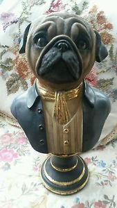 NEW So cute! Dog Ornaments, Dog Art, Kitsch, Pugs, French Bulldog, Gentleman, Retro Vintage, Dog Stuff, Jr