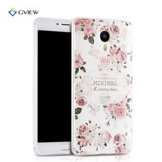 Luxury 3D Relief  Soft Silicon Back Cover Case For MEIZU M3 Max / Meilan Max Cartoon TPU Phone Case for MeiLan Max  Cover Coque