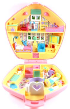 Polly Pocket. This is how I got my nickname, thanks to Joy and Jill waaaaay back in the day :)