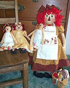 Rag Doll Pattern Primitive Doll Pattern Cloth Doll Pattern | Etsy Wool Felt Fabric, Primitive Doll Patterns, An Elf, Pattern Images, New Dolls, Doll Maker, Doll Clothes Patterns, Doll Accessories, Pattern Paper