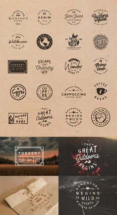 Retro Badges Templates