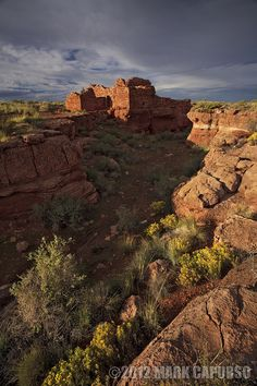 The Lomeki Ruin at Wupatki National Monument, Arizona; photo by Mark Capurso