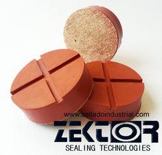 Rodajas para asiento de etiquetadora de Silicón http://selladoindustrial.com/esp/index/item/6/empaques-de-hule #Silicon #selladoindustrial #zektorweb