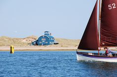 Blakeney Point, Norfolk...we love it here especially when the seals have their pups with them on the sand banks.
