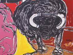 """""""Festa Brava"""" da artista Maria Sobral Mendonça - zarpante.com  http://zarpante.com/pg/galeria-de-arte-de-maria-sobral-mendon-185#.UauQ4oLOHMg"""