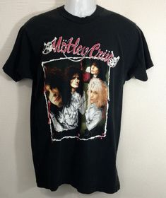 5d676ffa1a Details about Vintage 1989 Motley Crue Dr Feelgood Tour Gildan T-Shirt USA  Size S - 3XL TOP