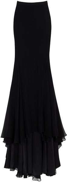 JASON WU Chiffon Maxi Skirt- WOW, I wish I had the legs for this.
