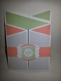 United Papercreations: Babyalarm! / baby alert! The Unit, Cards, Baby, Paper, Book Folding, Packaging, Gifts, Crafting, Maps