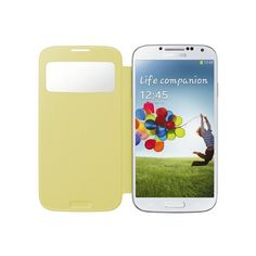 Funda Samsung Galaxy S4 Original S-View Cover - Amarilla