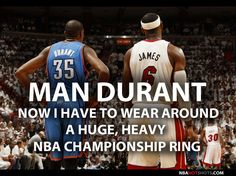 [Memes] LeBron James Taunts Kevin Durant About Having A Championship Ring