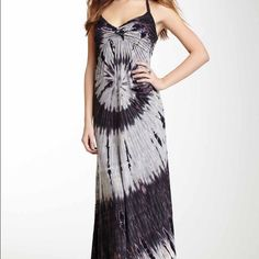 Tie Dye Maxi Dress by Casual Freedom NWT Tie Dye maxi halter top dress by Casual Freedom. Light weight and perfect for summer. Beautiful blend of pinks, purples, grays, and blacks. Never been worn, new with tags! Casual Freedom Dresses Maxi