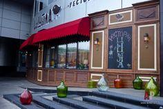 Картинки по запросу оформление фасадов кафе фото