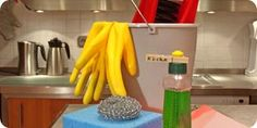 Homemade All-purpose kitchen cleaner--want to try!
