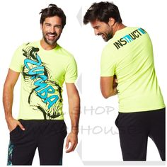 ZUMBA®  INSTRUCTOR TEE T-Shirt Top fr.Convention #Zumba #ShirtsTops